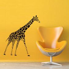 Wall Decal Sticker Vinyl Giraffe Animal Cheerful Africa Room M425