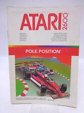 Anleitung - Handbuch - Bedienungsanleitung Atari - Pole Position