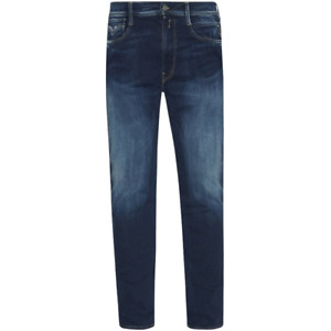 Replay Anbass Hyperflex Slim Fit Blue Edition Jeans RRP£175