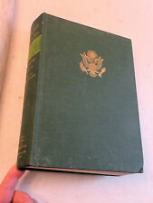 1959, Special Studies Chronology 1941-1945, US Army in WW II, 1st HB INSCRIBED