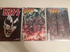 KISS - 1,2,AND 3 - VARIANT COVERS - DEMON - FREE SHIPPING!