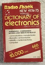Tandy Radio Shack 1974-75 Dictionary of Electronics 688 pages 68-1030  FREE SHIP