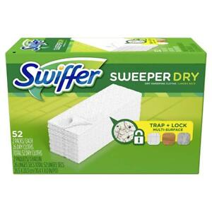 Swiffer Sweeper Dry Mop Refills for Floor Mopping and Cleaning, All Pack of 1