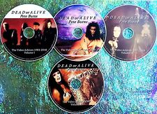 Pin & FREE DEAD OR ALIVE PETE BURNS Video Archives Collection 81-2010 4 DVD Set