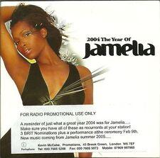 JAMELIA 2004 The Year Of Jamelia CD rare promo sampler album Coldplay song RARE