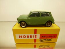 METOSUL 8 - MORRIS MINI COOPER - GREEN/WHITE 1:43 - GOOD CONDITION IN BOX