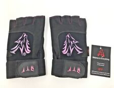 Wolf High Performance FITNESS GLOVES Weightlifting Bodybuilding Pink XS