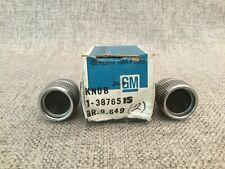 1966 Corvette Radio Knobs Nos Gm 3876515 2 Pcs In Original Box