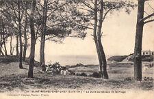 SAINT-MICHEL-CHEF-CHEF 31 la dune au-desss de la plage coll chapeau