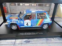 RENAULT 5 Turbo GT Rallye Bandama Ivoire 1990 #4 Oreille Diac elf Norev SP 1:18