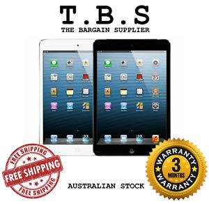 Apple iPad mini 1 16/32/64GB - White/Black, WiFi/Cellular (AU STOCK) MAX IOS 9