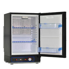 Free-standing 40L 3-way Propane Refrigerator Gas Electric Control Cooler AC DC