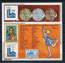 Bolivien Block 102/03 postfrisch / Olympiade ..............................1/728