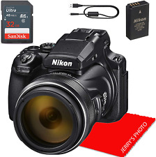 Nikon Coolpix P1000 Digital Camera + 32Gb Memory Bundle