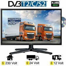 Reflexion LDDW240 LED 23.6 Zoll TV DVB-S2 / C / T2 DVD, 24 Volt 12 Volt 230 Volt