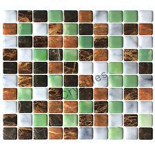 "Crystiles® Peel&Stick Self-Adhesive Tiles, Item# 91010849, 10""X10"", Set of 6"