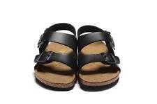 Milano  Women's Sandals Mens  Straps Slide Black