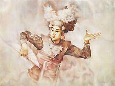 Hand painting Balinese Dancer 294
