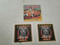 Beer Bar Coaster Lagunitas Lot of 3 Fast shipping