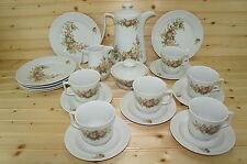 Jlmenau Graf Von Henneberg HEP24-Pot-Creamer-Sugar Bowl-6 Cups, Saucers, Plates
