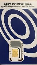Tracfone Safelink SIM Card BYOP Fits AT&T Or Unlocked GSM  Triple Cut Nano USA