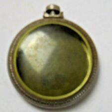 Vtg Keystone Train Pocket Watch Mixed Parts For Repair As Is