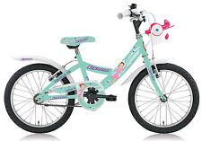 """Bicicletta Bambina MTB Venere 18"""" Legnano Junior fatina L688 senza cambio Verde"""