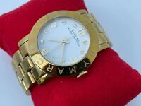 Marc by Marc Jacobs Wristwatch Gold Tone Analog Ladies Watch Water Resistant 30M