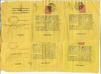 Regno -Storia Postale -  Umberto 1° -Lotto da 4 Ricevute Raccomandate - 1883