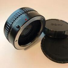 VIVITAR MC TELE CONVERTER 2X-24 Lens - YASHICA / CONTAX Fit 'EXCELLENT'