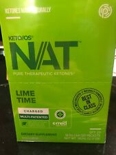 NEW PRUVIT Keto LIME TIME 20 PACK Box Key Limeade Charged