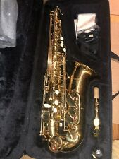 Mercury Alto Saxophone Sax With Metal Mouth Engraving Bell