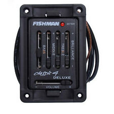 4 Band Acoustic Guitar Fishman Classic 4  Deluxe Acoustic Guitar Preamp Pickups