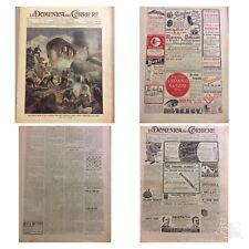 """Giornale n.35/1913 31 Ago 7 Sett. """"La Domenica del corriere"""" Poggio Reale Napoli"""