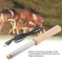 Electric Cauterizing Iron Dehorner Debudder Sheep Goats Calves Horns Dehorner