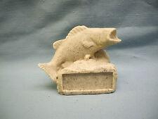 "FISH  trophy resin ""rock"" style GR060"
