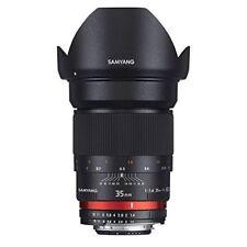 SAMYANG Single-Focus Standard Lens 35mm F1.4 Full Size for Nikon AE Japan new.