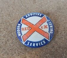 Vintage Redex Fuel Additive Service Badge  button badge 3cm