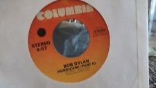 R3 BOB DYLAN HURRICANE PT, 1 & 2 ON COLUMBIA  RECORDS