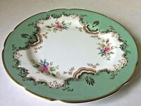 Paragon Plate Floral Dinner Side Gold Pattern Fine English Display Bone China