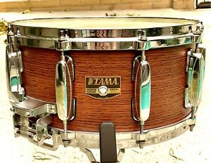 "Tama AW106 Rosewood Over Birch 14""x6.5"" Snare Drum, Artstar II/Granstar era4 Kit"