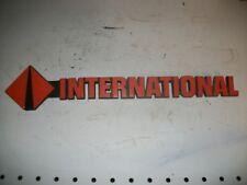 INTERNATIONAL NAVISTAR EMBLEM  NAME BADGE PART # 1652252C1