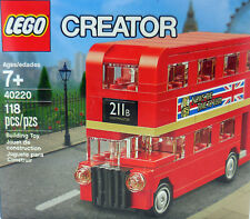 LEGO 40220 Creator London Bus Set 118 pcs/pzs NEW in factory sealed box