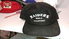 RAIDERS SNAPBACK ADJUSTABLE MESH TRUCKER CAP/HAT