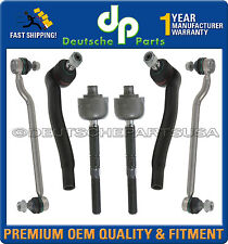MERCEDES W203 4MATIC SWAY BAR STABILIZER LINK LINKS + INNER + OUTER TIE ROD 6 PC