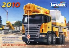 BRUDER Prospekt Katalog 2010 NEU advertising brochure prospectus