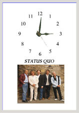 Status Quo  Wall  clock  Great gift Personalised Free