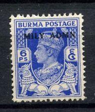 Burma 1945 SG#37, 6p KGVI Optd Mily Admn MNH #C82