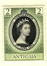 ANTIGUA 1953 CORONATION MNH