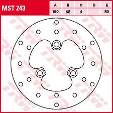 disque frein  avant & arrière TRW LUCAS MST 243 MBK  50 NITRO  1997-06